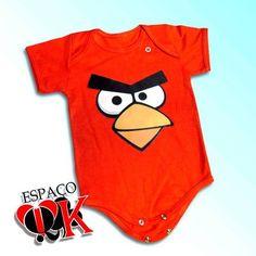 Body para bebê ou Camiseta Infantil Angry - Produto 429892   AIRU