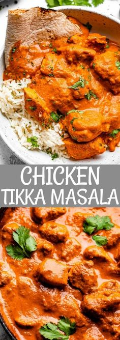 This simple stove top Chicken Tikka Masala recipe is rich and creamy with huge flavor. The tender marinated bits of chicken are juicy and absolutely delicious. #chickentikka #indianfood #tikkamasala Easy Chicken Tikka Masala, Tikka Masala Recipes, Best Chicken Tikka Masala Recipe, Best Chicken Curry Recipe, Tika Massala, Curry Recipes, Healthy Recipes, Simple Cooking Recipes, Healthy Meals