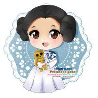 comm: Princess leia by crowndolls