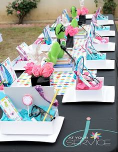 It's a Glitzy Bookworm Party!!! A MUST for the First Birthday!! Awesome!