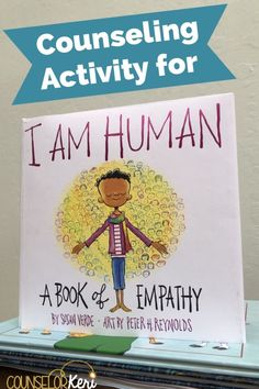 Looking for a great classroom community building or empathy activity for your classroom guidance lessons? You'll love this I am Human activity! This empathy classroom guidance lesson or empathy small group activity is sure to be a hit with your school cou Counseling Activities, Book Activities, Therapy Activities, Play Therapy, Small Group Activities, Classroom Activities, Diversity Activities, Bullying Activities, Therapy Worksheets