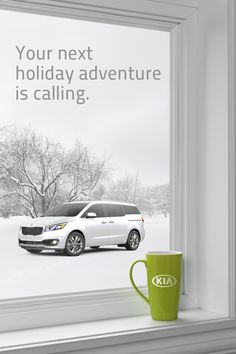 Let the all-new 2015 Kia Sedona take you on your next adventure with ease. With ample passenger space, cargo room, and multiple power outlets, it's the perfect vehicle for those long holiday road trips. Make it yours today: http://www.kia.com/us/sedona