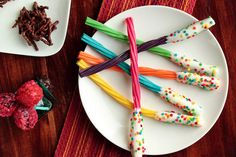 Serve licorice wands just like the ones on the food trolley on the Hogwarts Express. | 29 Essentials For Throwing The Perfect Harry Potter Party