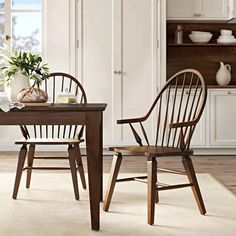 Farmhouse Dining Chairs, Solid Wood Dining Chairs, Upholstered Dining Chairs, Upholstery Cushions, Wood Storage Bench, Birch Lane, Dining Room Design, Engineered Wood, Side Chairs