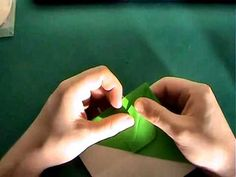 How to make an origami crocodile 1/2 - YouTube