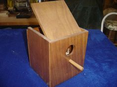 basic fliptop birdhouse