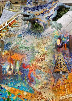 Fase 1 | Moodboard 1 - kleurrijk, mozaïek