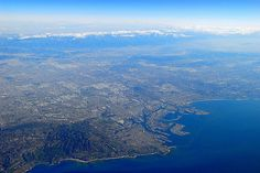 Greater Los Angeles 鸟瞰洛杉矶地区