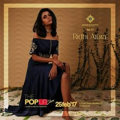 Presenting Ridhi Arora next on board. The Ridhi Arora Brand gives you the most elegant womenswear for all events. Enrich your wardrobe with their exclusive collection only at #Serendipity #Take10 #ThePopUpShow #LifestyleExhibition #25Feb'17 #CourtyardMarriotGurgaon