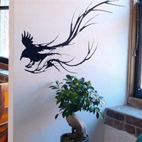 Raven Whimsical 1205 Lost Lenore Wall Decal http://www.lowes.ca