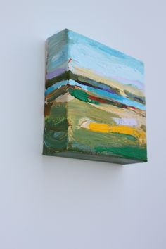 SOLD 5x5 acrylic on canvas