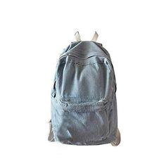 Oferta: 16.99€. Comprar Ofertas de bolsos de las mujeres, FEITONG Moda Unisex Denim Mochila de Viaje Bolsa para la escuela Retro Casual mochila Pantalón (Azul c barato. ¡Mira las ofertas!