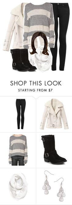 """""""Allison Inspired Winter Outfit"""" by veterization ❤ liked on Polyvore featuring Topshop, Mantaray, Halogen and Dorothy Perkins"""