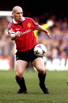 The big Dutchman became a cult favourite in only three seasons at United.