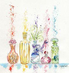Carthusia perfume ad by Grey Hall.