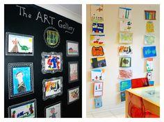 Ejemplo de como mostrar los dibujos de niños | Fuente: artful-kids.com