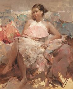 Nydia Lozano, 1947 ~ Impressionist Figurative painter