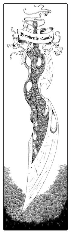 "Heavenly sword. ""Heavenly sword"" game poster."