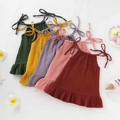 Baby Dress Design, Baby Girl Dress Patterns, Little Girl Dresses, Baby Clothes Patterns, Baby Dresses, Dress Girl, Baby Frocks Designs, Kids Frocks Design, Baby Girl Frocks