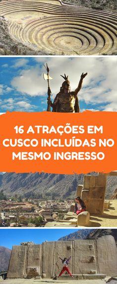 Em Cusco, o Boleto Turístico garante a entrada em várias ruínas de Cusco e Valle Sagrado. Ollantaytambo, Chinchero, Pisac, Qenqo, Pukapukara, Saqsawaman e outras ruínas, além de museus, monumentos e espetáculos de dança. Atrações imperdíveis em Cusco.