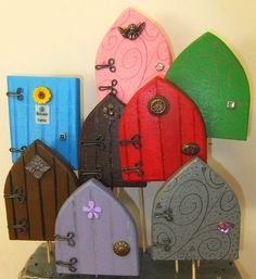 """Visit my Facebook page Away With The Fairies and comment on the """"doors"""" post before Sunday 18 May, and you could win one of 5 fairy doors..."""