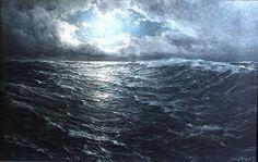 Cape Horn in the moonlight, 1912, Hugo Schnars-Alquist