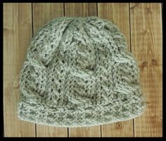 (4) Name: 'Crocheting : Double Cable Crochet Hat