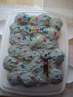 """rock climbing party in """"Children's Birthday Cakes"""" — Photo 1 of 1"""