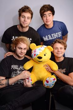 Ashton's super cute and then there's Michael who is killing the whole fandom thanks Mikey