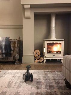 Cosy living room fireplace #livingroom