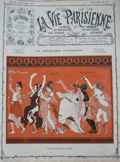 Joseph Kuhn-Régnier (1873 – 1940). La Vie Parisienne, 29 Octobre 1910. [Pinned 14-vii-2015]