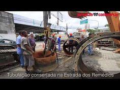 Compesa alerta que mais canos vão estourar no Recife - Cano estourado prejudicou 1 milhão de pessoas no Grande Recife