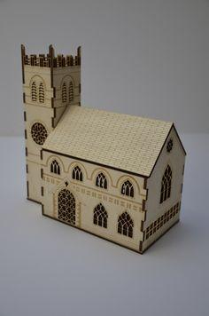 Laser cut church nightlight £30.00