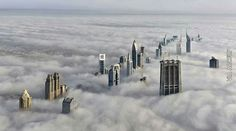 Funny pictures about Dubai on a cloudy day. Oh, and cool pics about Dubai on a cloudy day. Also, Dubai on a cloudy day photos. Dubai Skyline, Beautiful World, Beautiful Places, Amazing Places, Wonderful Things, Cool Pictures, Cool Photos, Amazing Photos, Crazy Photos