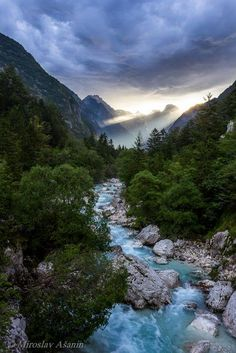 Trenta Valley - Soča, Bovec, Slovenia