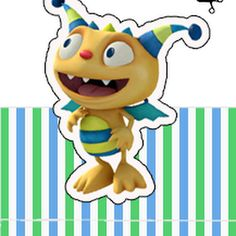 Henry Hugglemonster: Free Printable Original Nuggets or Gum Wrappers. | Oh My Fiesta! in english