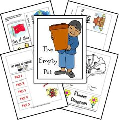 The Empty Pot FREE Unit Study Lessons and Lapbook Printables