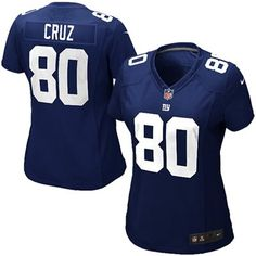 Women's New York Giants Nike Royal Blue Warpspeed All Time Full ...