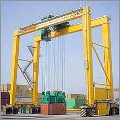 EOT Crane -  Ahmedabad, gujarat located travelling eot crane manufacturer, supplier and exporter of hot crane, jib crane, trolley crane, gantry crane, goliath crane, flame proof hoists in india