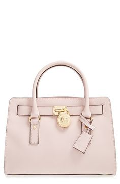 MICHAEL Michael Kors \u0027Medium Hamilton\u0027 Saffiano Leather Satchel