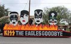 San Felipe Del Rio C.I.SD. held it's 2013 Homecoming Parade on October 30, 2013. The first prize winner of the Parade went to Del Rio Freshman Campus with the KISS Themed