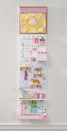 Organize your child's room with Wall Manager from Martha Stewart Home Office #marthastewarthomeoffice