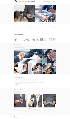 Sitio web desarrollado con WordPress en 2018