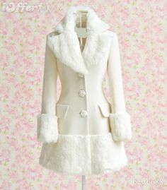 the one I found is sort of like this but pink, belted and doesn't have trim around the bottom. Size M, though.