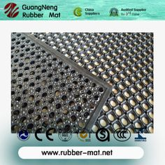 Heavy Duty Rubber Mat Drainage Oil Resistance Anti Slip Kitchen Mats Food Grade On Made In China