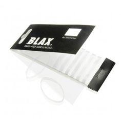 4mm CLEAR Hair Elastics 8 ct by Blax