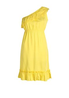 Cute, yellow summer dress