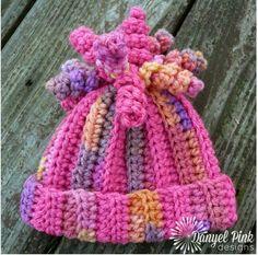 """Delany Hat,"" free crochet pattern on Danyel Pink Designs"