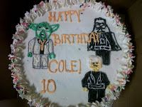 LEGO Star Wars Ice Cream Cake :)