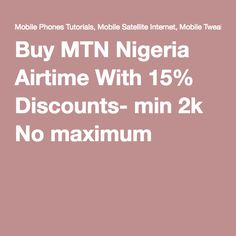 42 Best Nigeria Networks promos, tarrifs and mb images in 2019